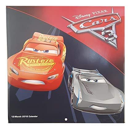 Wall Year Calendar 2009 (2018 Licensed Characters 12- Month Wall Calendars, 10x10 in. (Disney-Pixar Cars))