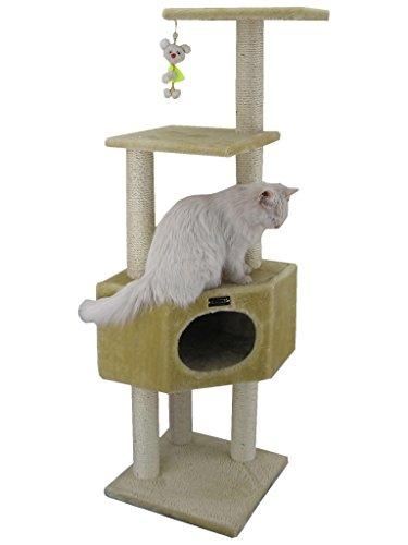 Armarkat Cat Tree Model A5201, Beige (Renewed)