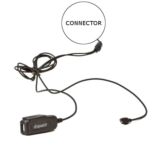 Impact Gold Series SP3-G2W Replacement Cable for Sepura Bottom Mount SRP and SRH - Sp3 Series