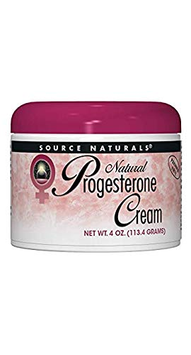 (Source Naturals Progesterone Cream - Women's Health Support - High Purity, Paraben Free - 4 Ounces )