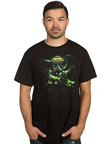JINX World of Warcraft: Legion Men's Lord of Outland Premium Cotton T-Shirt