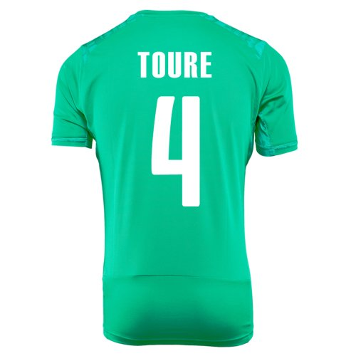 パース高齢者国勢調査PUMA TOURE #4 IVORY COAST AWAY JERSEY WORLD CUP 2014/サッカーユニフォーム コートジボワール アウェイ用 ワールドカップ2014 背番号4 トゥーレ