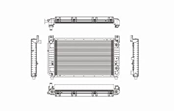 Chevy Silverado 5.3L 6.0L Replacement Radiator With Automatic Transmission