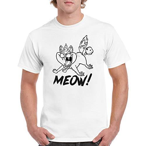 Camiseta Divertida Farting Caticorn Unicorn Gato Unicornio Gatos Camiseta Hombre Camiseta S hasta 5XL: Amazon.es: Ropa y accesorios
