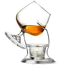 Jeray Vinology Brandy & Cognac Warmer Warming Glass Set