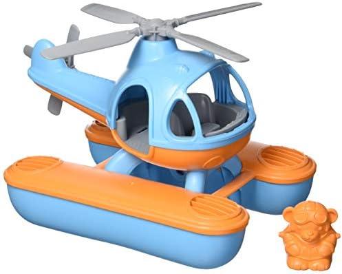 Green Toys Seacopter, Blue/Orange CB –...