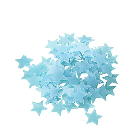 fly-spray-100pcs-stars-glow-in-the-dark-luminous-fluorescent-3d-wall-stickers-decal-baby-kids-bedroo