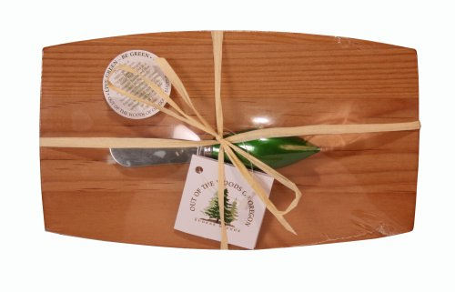 Oregon Pate Board - Out of the Woods of Oregon Pate Board with Christmas Ornament Spreader, Green