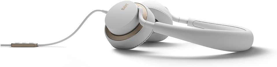 JAYS u JAYS Cuffie per SmartphoneMP3, colore: biancoargento