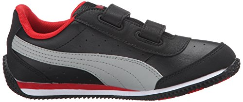 Puma Kids Speed Light Up V PS Sneaker Puma Black/Limestone