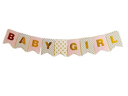 baby shower banner girl - 5