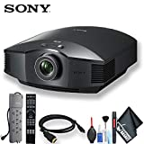 Sony VPL-HW45ES Full HD Home Theater Projector (Black) Standard Bundle