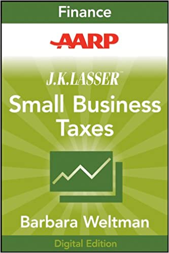 Download e-books aarp j. K. Lasser's small business taxes 2010.