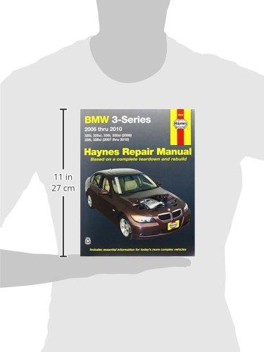 Haynes 18023 Repair Manual BMW 3-Series 320i 320xi 12-14 325i ...