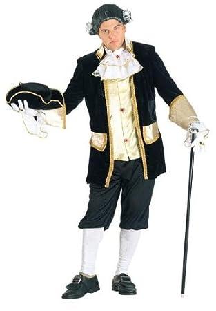clown 74207 disfraz de veneciano rey de francia el rey luis l
