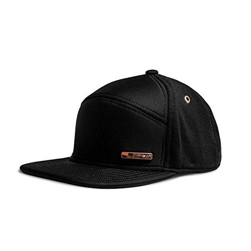 Melin Mini Bar (Black Rose Gold) Hat (Suede Woven Hat)