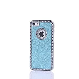 Zaki- Protective Shining Glitter ABS Back Case for iphone 4/4S , Red