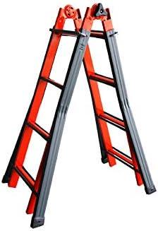 Escalera Telescópica 10 gragini acero Serafina – Svelt: Amazon.es: Bricolaje y herramientas