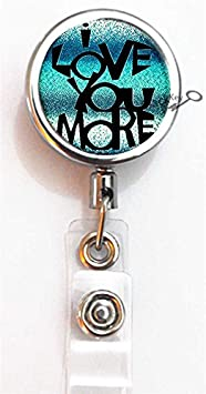 BlackKey Just Breathe Retractable ID Card Badge Holder Reel with Lanyard /& Belt Clip 814