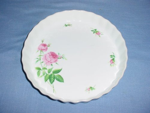 Christineholm Quiche Pan with Pink roses