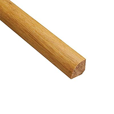 Strand Woven Natural 3/4 in. Thick x 3/4 in. Wide x 94 in. Length Bamboo Quarter Round Molding