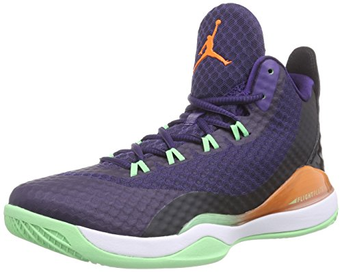 Nike white Po Baseball 3 Blu fly ink black Scarpe Mandarin bright Super Jordan Uomo Da frgqF4fS