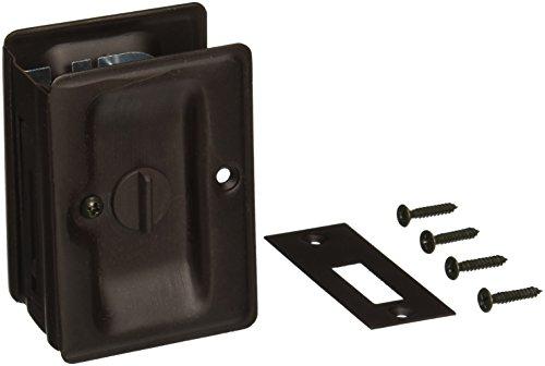 Deltana SDLA325U10B Adjustable 3 1/4-Inch x 2 1/4-Inch Privacy HD Pocket Locks