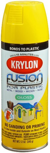 Krylon Fusion Spray Paint Gloss Sunbeam 12 Ounces