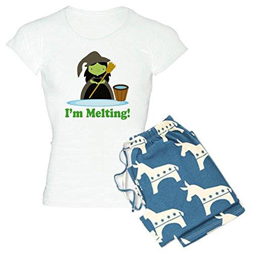 CafePress Wicked Witch Melting Women's Light Pajamas - Wo...