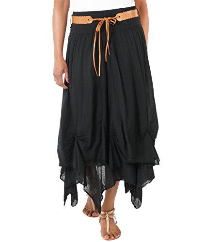 (Krisp Cotton Skirt)