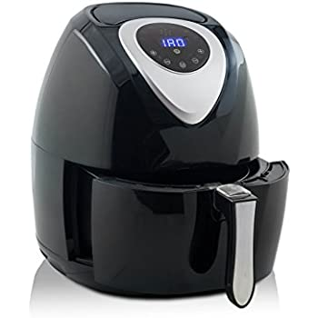 Modernhome taf 710 digital air fryer black Modern home air fryer