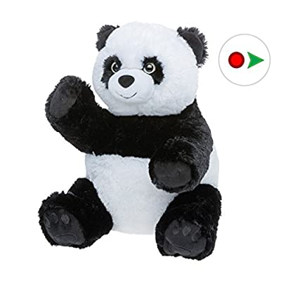 Record Your Own Plush 16 inch Stuffed Panda Bear - Ready to Love in A Few Easy Steps: Toys & Games