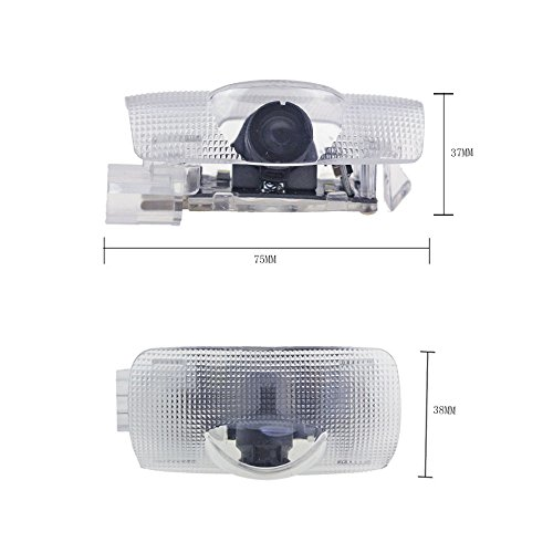 2pcs Fit for Toyota Led Logo Projector Door Lights 3D Welcome Puddle Lights Ghost Shadow Courtesy Step Light for Runner Avalon Camry Highlander Land Cruiser Sienna Error Free Plug and Play 5W