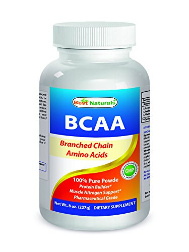 Best Naturals BCAA Powder 8 OZ Branch Chain Amino Acids Pharmaceutical Grade Review