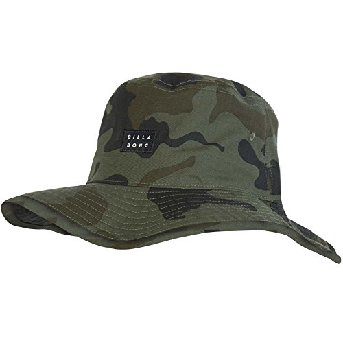 Billabong Canvas Hat - Billabong Men's Big John Texture Hat, Camo, ONE