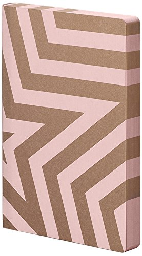 Rosa//Gris Nuuna Gr/áfico LSuperstar Jeans Label material Notebook