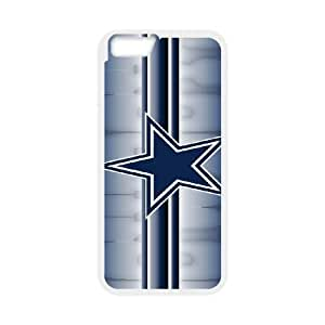 iPhone6 Plus 5.5 inch Phone Case White Dallas Cowboys JHL279601