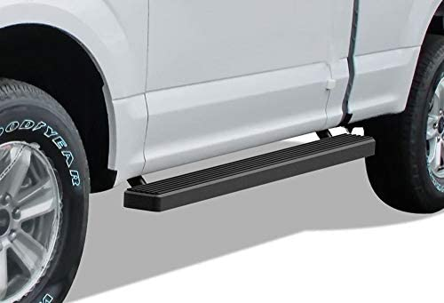 Nerf Bars Side Steps Side Bars APS iBoard Running Boards 5 inches Custom Fit 2015-2020 Ford F150 Regular Cab Pickup 2-Door /& 2017-2020 Ford F-250 F-350 Super Duty