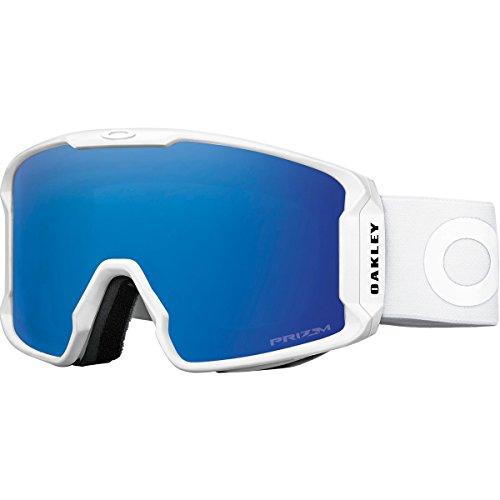 15e27e5b21 Oakley Line Miner Adult Goggles - Factory Pilot Whiteout Prizm Sapphire  Iridium One Size