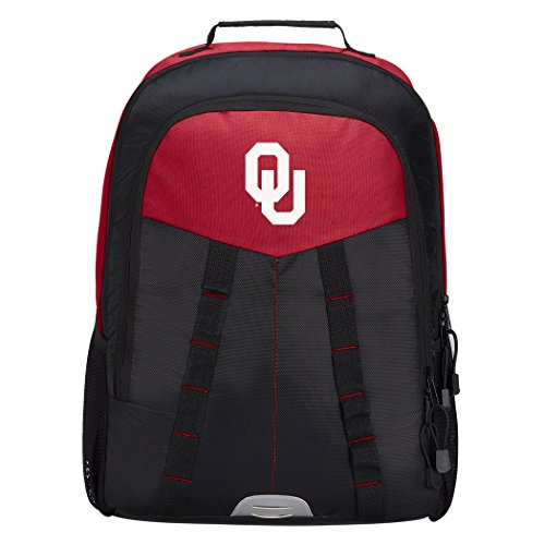 Officially Licensed NCAA Oklahoma Sooners Scorcher Sports Backpack, Red