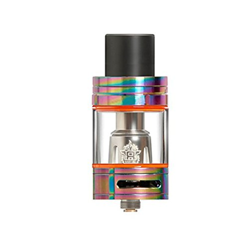 TFV8 Glass Big Baby Beast Replacement Tank Top 5ml 24.5mm 510 Drip Tip Adapter (rainbow)