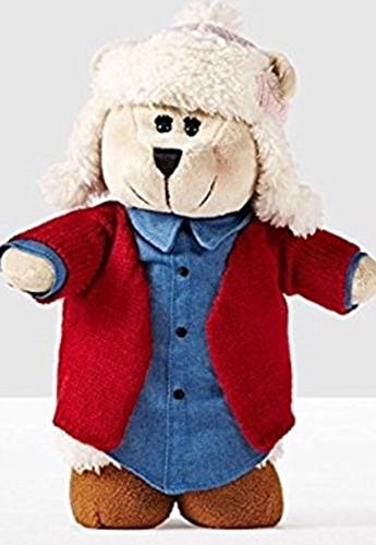 Starbucks Bear - Starbucks Home for the Holidays Bearista Girl Bear 2016