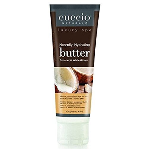 Cuccio Naturale Spa Coconut & White Ginger Butter 4 oz - Pac