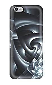 Flexible Tpu Back Case Cover For Iphone 6 Plus - 3d Abstract Hearts