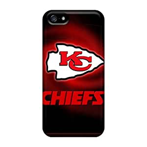 New Premium Flip Case Cover Kansas City Chiefs Skin Case For Iphone 5/5s