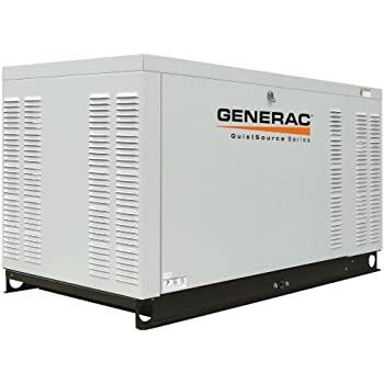 Generac QT02724ANAX, 27kW Rated Watts, LP/Natural Gas Powered Standby Generator (Discontinued by Manufacturer)