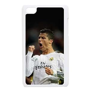Ipod Touch 4 Phone Case White Cristiano Ronaldo F6528959