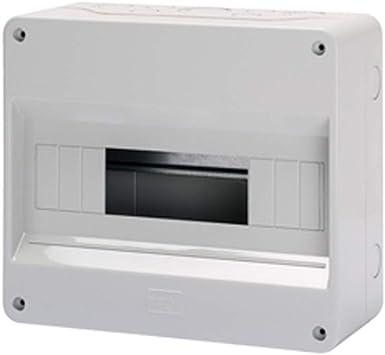 Gewiss GW40026 caja eléctrica - Caja para cuadro eléctrico (95 mm, 180 mm, 180 mm): Amazon.es: Bricolaje y herramientas