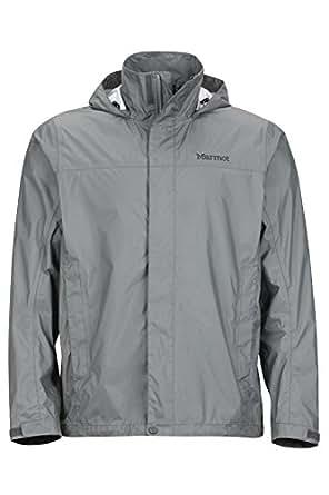 Marmot Mens PreCip Jacket, Gargoyle, L