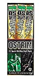 Ostrim Beef/Ostrch Natrl Size 1.5z Ostrim Beef/Ostrich Natural Snack Stick Caddy 15z